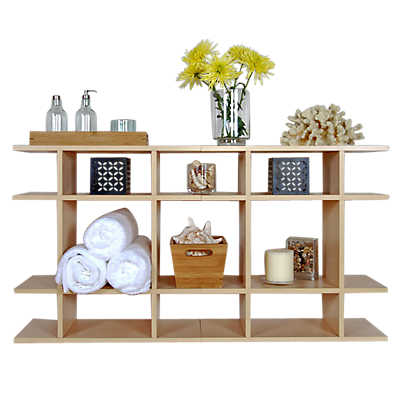 Picture of 4' Wide Classic Bath Shelf by Smart Furniture