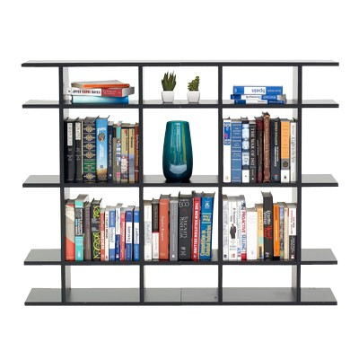 Picture Of 4 Wide Classic Bookshelf By Smart Furniture
