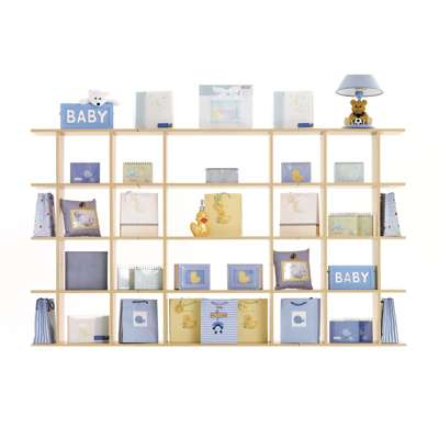 Picture for 7' Wide Gift Store Display by Smart Fixtures