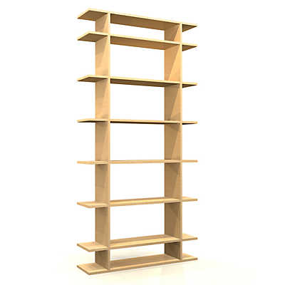 Picture of 3' Wide Classic Bookshelf by Smart Furniture