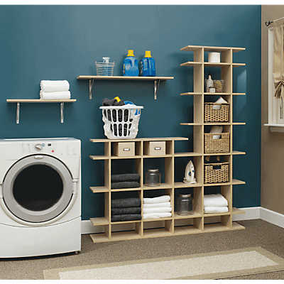 Picture of 5' Wide 2-Tier Storage Shelf by Smart Furniture