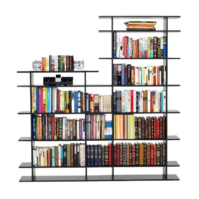 Picture Of 6 Wide 2 Tier Bookshelf By Smart Furniture