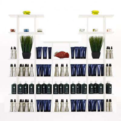 Picture for 6' Wide Tiered Salon Display by Smart Fixtures