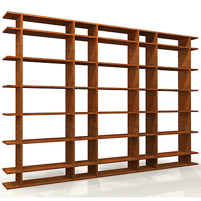 Picture of 9' Wide Classic Office Shelf by Smart Furniture