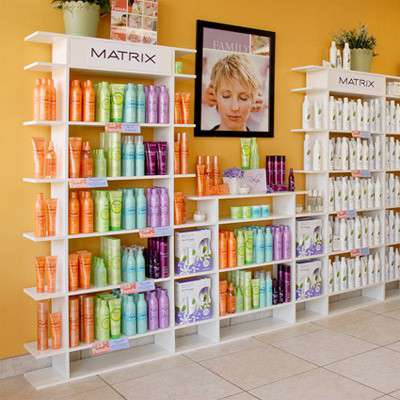 Picture for 9' Wide Tiered Salon Display by Smart Fixtures