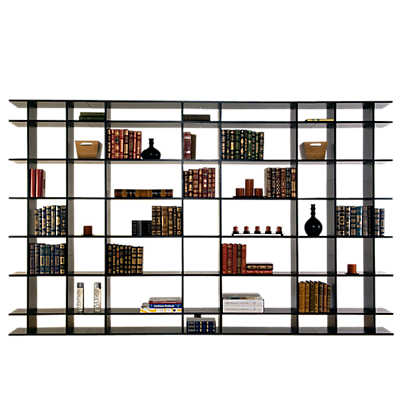 Picture of 10' Wide Classic Bookshelf 0610f002 by Smart Furniture