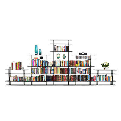 Picture of 15' Wide Bookshelf 0615s016 by Smart Furniture