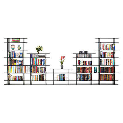 Picture of 15' Wide Bookshelf 0615s017 by Smart Furniture