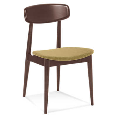 Picture of Model 100 Upholstered Side Chair by Saloom