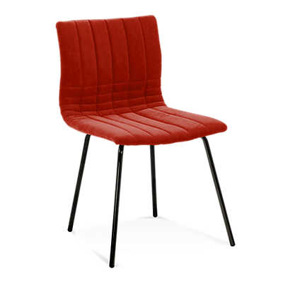 Picture of Model 110 Cube Upholstered Side Chair by Saloom
