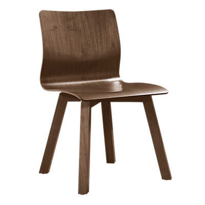 Picture of Model 112 Wood Chair by Saloom