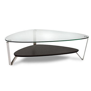 1343-CHOCOLATE STAINED WALNUT: Customized Item of Large Dino Coffee Table by BDI (1343)