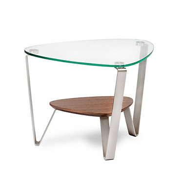 1347-GLOSS WHITE: Customized Item of Dino End Table by BDI (1347)