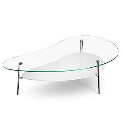 Picture of Comma Coffee Table, Polished Legs by BDI