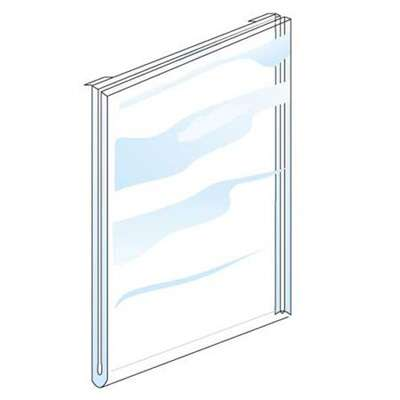 Picture for Large Acrylic Signholder for Grid Or Slatwall by Smart Fixtures