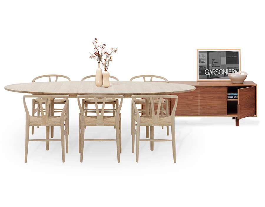 Cherner Carl Hansen A Perfect Match Blog Smart Furniture - Cherner dining table