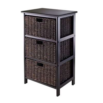 Picture for Three-Tier Storage Rack with 3 Baskets