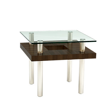 2310-CHOCOLATE STAINED WALNUT: Customized Item of Hokkaido End Table by BDI (2310)