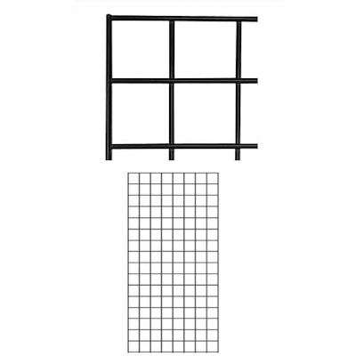 Picture for 2' x 4' Gridwall Panels, Set of 2 by Smart Fixtures