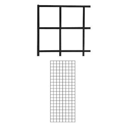 Picture for 2' x 5' Gridwall Panels, Set of 2 by Smart Fixtures