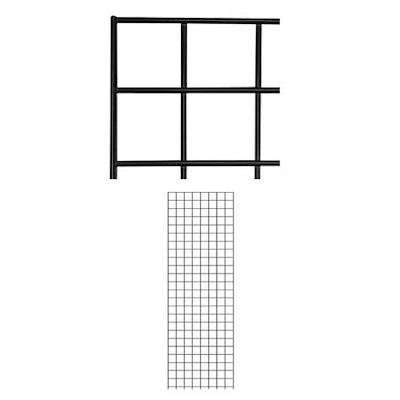 Picture for 2' x 6' Gridwall Panels, Set of 2 by Smart Fixtures