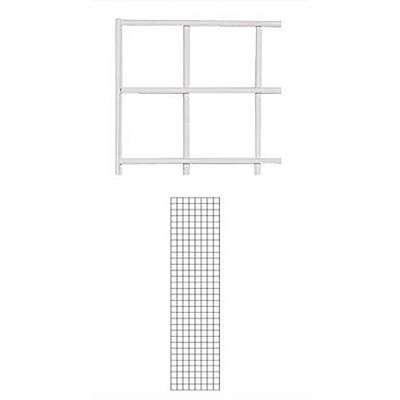 Picture for 2' x 8' Gridwall Panels, Set of 2 by Smart Fixtures