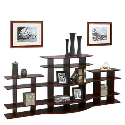 Picture of 7' Wide Arc Display Shelf 3A0307s001 by Smart Furniture