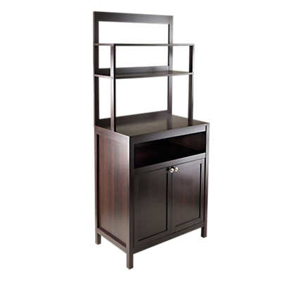 Picture of 2-Door Cabinet with Hutch