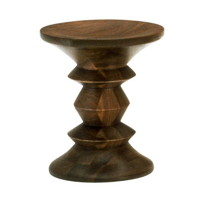 Picture of Eames Walnut Stool C by Herman Miller