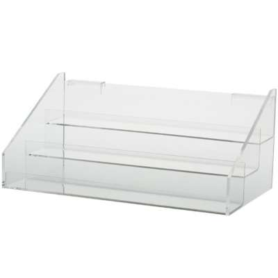 Picture for 3-Tier Acrylic Shelves For Grid or Slatwall by Smart Fixtures