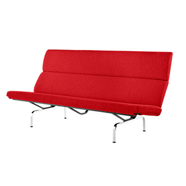 4733P19: Customized Item of Eames Sofa Compact by Herman Miller (473)