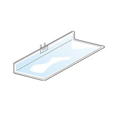 "Picture of Acrylic Pegboard Shelf, 9"" w x 4"" d by Smart Fixtures"