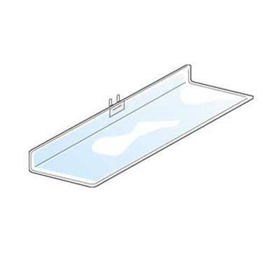 "Picture for Acrylic Pegboard Shelf, 12"" w x 4"" d by Smart Fixtures"
