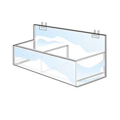 Picture for Acrylic Double Display Bin For Pegboard by Smart Fixtures