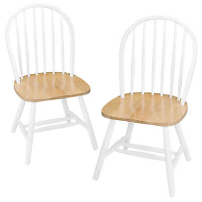 Picture of Dining Chairs with Straight Legs, Set of 2