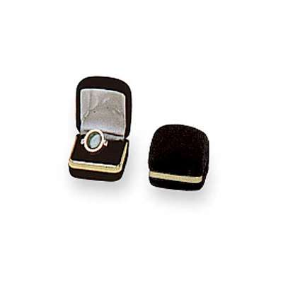 Picture for Black Velvet Ring Box by Smart Fixtures