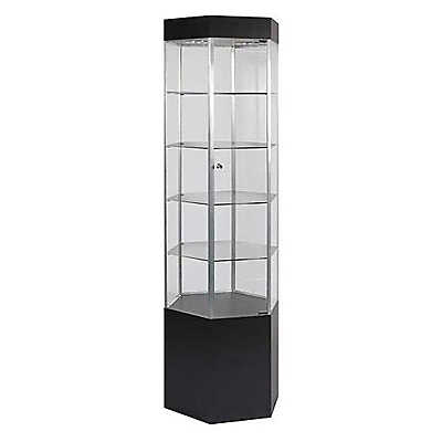 Picture of Hexagonal Display Tower With Light by Smart Fixtures