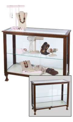 Picture for Boutique Espresso 48in Glass Display Case by Smart Fixtures