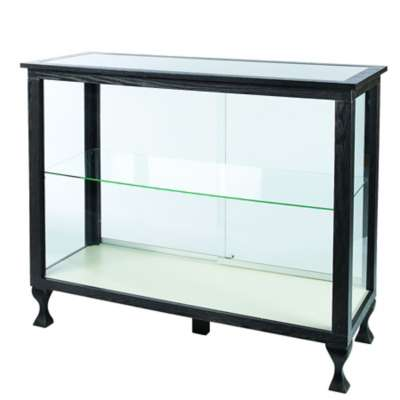 Picture for Boutique Charcoal Black Glass Display Case by Smart Fixtures