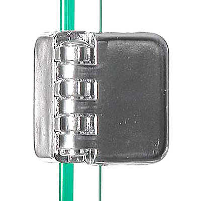 """Picture of Hinge Clip For 3/16"""" Tempered Glass Panels by Smart Fixtures"""