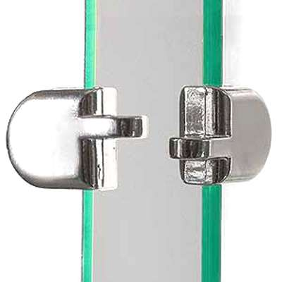 "Picture for 2-Piece Hasp For 3/16"" Tempered Glass Panels by Smart Fixtures"