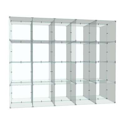 Picture for Double Sided 4 x 5 Cube Display, 14 x 14 Panels by Smart Fixtures