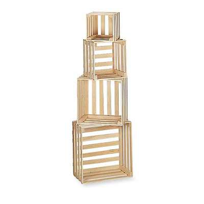 Picture for Set of 4 Nesting Crates by Smart Fixtures
