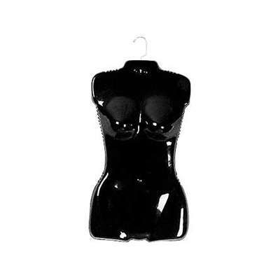 Picture for Black Woman's Torso Fashion Form w Metal Hooks by Smart Fixtures