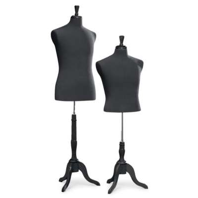 Picture for Man's Jersey Suit Forms w Tripod Base by Smart Fixtures