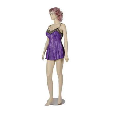 Picture for Female Mannequin with Brushed Chrome Round Base by Smart Fixtures