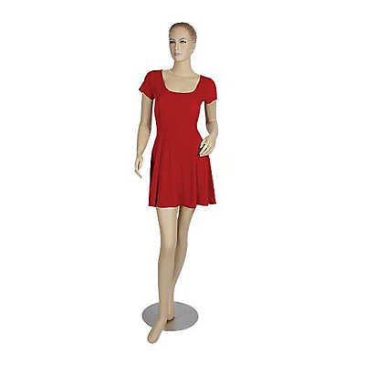 Picture of Female Mannequin with Chrome Base by Smart Fixtures