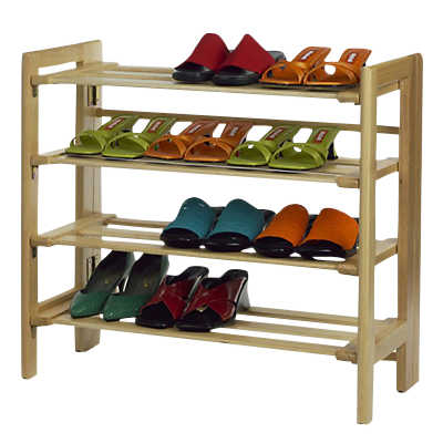 Picture of Four Tier Shoe Rack by Smart Furniture