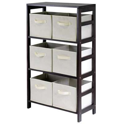 Picture for Three Tier Storage Shelf with Baskets by Smart Furniture
