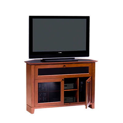 Picture of Novia Corner TV Stand, Single Wide  by BDI